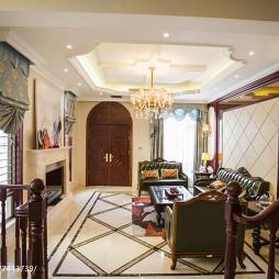 温馨欧式别墅客厅设计