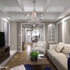 怀旧法式客厅装修