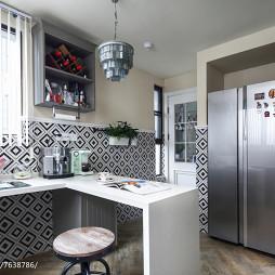 法式四居室厨房设计