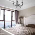 舒适法式卧室效果图