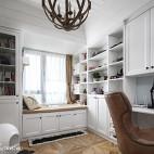 法式风格白色书房设计