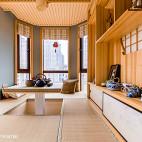 美式风格日系不规则阳台设计