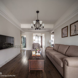 简单美式客厅设计大全