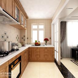 简欧风格厨房装修案例