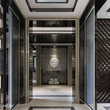 矩阵纵横设计作品-深圳山语清晖中式样板房_2603949