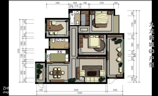 现代家居方案设计_2604291