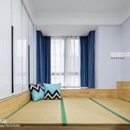 北欧现代榻榻米书房设计
