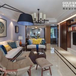 美式现代客厅设计案例