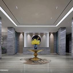别墅售楼处大厅设计