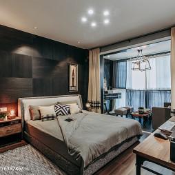 艺术现代风格卧室布置