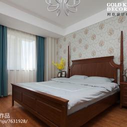 简约美式卧室装修案例