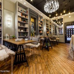 时尚咖啡厅设计案例