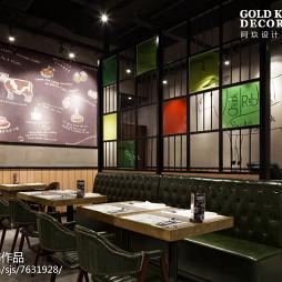 工业风西餐厅装修案例