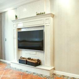 美式电视背景墙设计案例