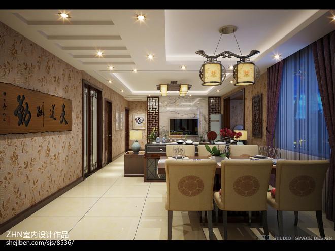 中式家居空间设计_2605246