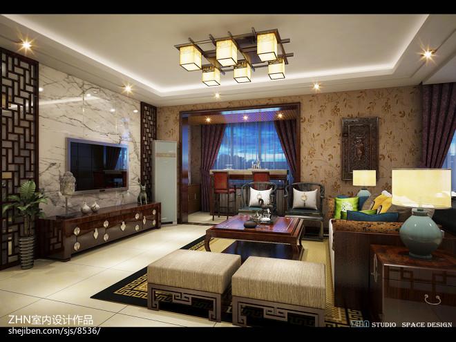 中式家居空间设计_2605248