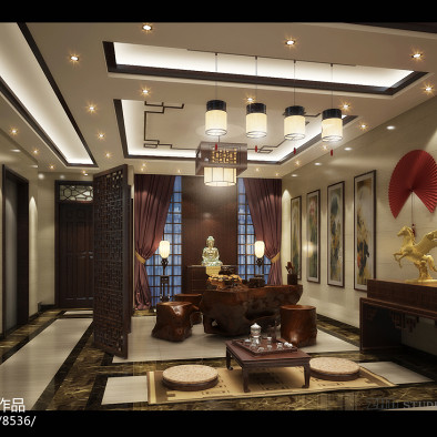 中式家居装饰工程设计