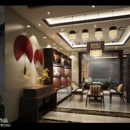 中式家居装饰工程设计_2605254