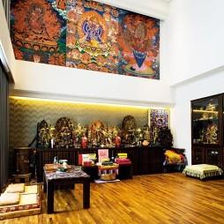 古典中式别墅客厅装修