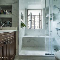 藍色美式格調衛浴設計