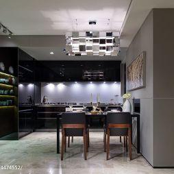 2017现代风格餐厅装修