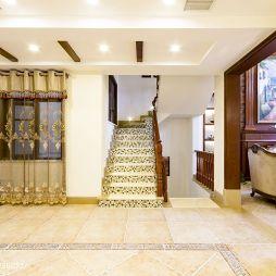 精致美式楼梯装修