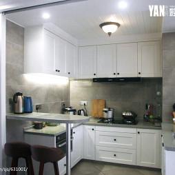 轻奢美式厨房设计