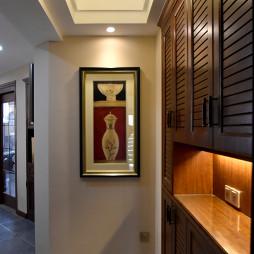 美式风格玄关鞋柜设计