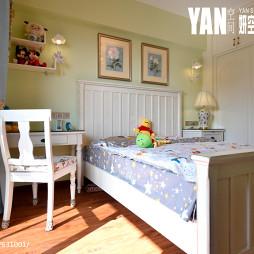 美式风格儿童房书桌设计