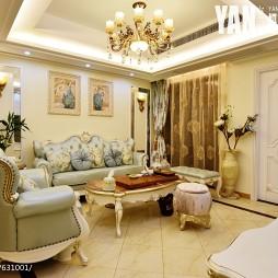 浪漫简欧风格客厅装修
