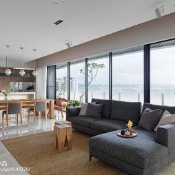 簡約日式客廳裝修