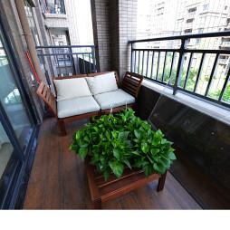美式风格简约阳台设计
