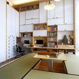 混搭风格风格书房升降台设计