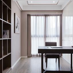简洁现代风格书房设计案例