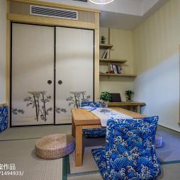 经典日式书房装修