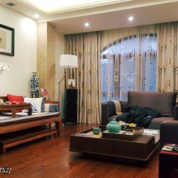 古雅中式客厅效果图