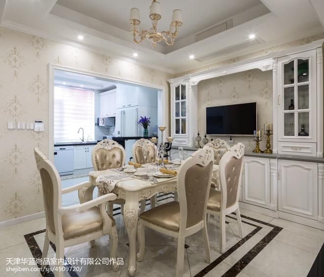 古典欧式别墅餐厅设计