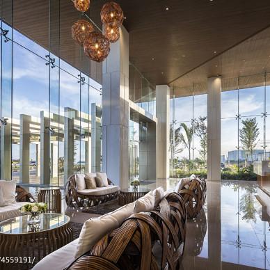 菲律宾售楼处休闲区设计