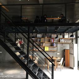 办公室铁艺楼梯设计