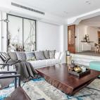 舒适中式风格客厅装饰图