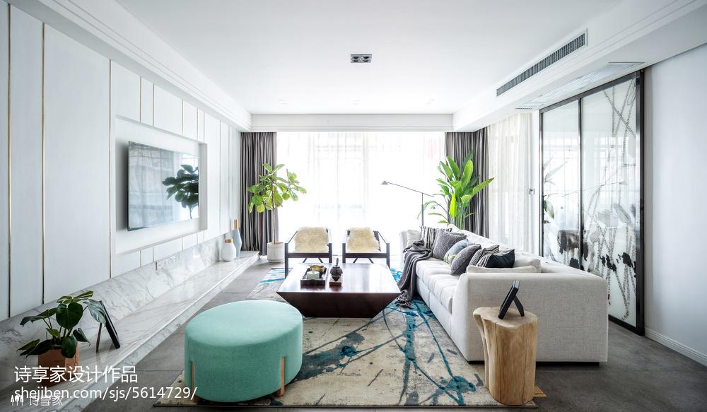 清新中式风格客厅装修