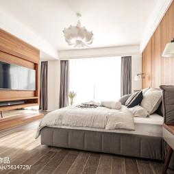 素净中式风格卧室装修