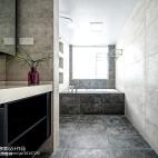 温馨中式风格卫浴效果图