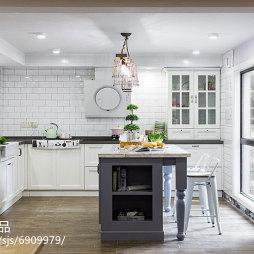 混搭风格复式厨房设计