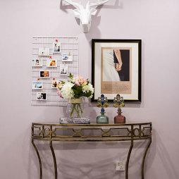 文艺混搭风格照片墙设计