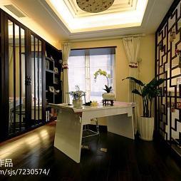 中式别墅书房设计