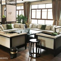 新中式酒店装修案例