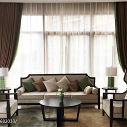 新中式酒店休息区设计