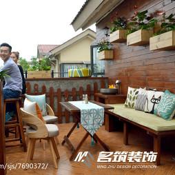 家居现代风格休闲花园设计