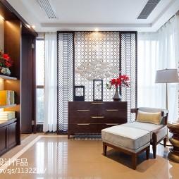 东南亚风格样板房休闲区设计